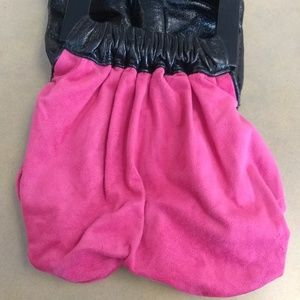 Allison Burns Bags - Allison Burns wood and leather mini bag